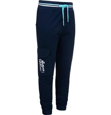Endo - Spodnie dresowe dla chłopca, z dodatkową kieszenią, granatowe, 9-13 lat C05K018_1 22