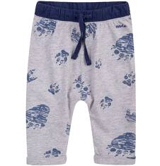 Spodnie dresowe z obniżonym krokiem dla dziecka 0-3 lat N71K031_1