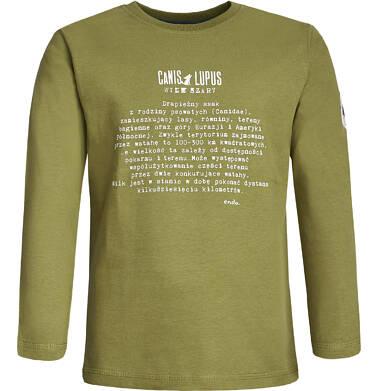 Endo - T-shirt z długim rękawem dla chłopca 9-13 lat C82G537_1