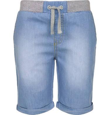 Endo - Krótkie spodnie jeansowe dla chłopca 9-13 lat C91K505_1