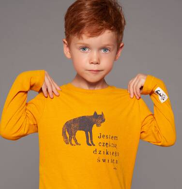 Endo - T-shirt z długim rękawem dla chłopca 3-8 lat C82G038_1