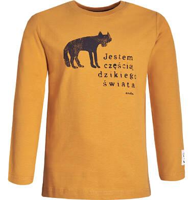 Endo - T-shirt z długim rękawem dla chłopca 9-13 lat C82G538_1