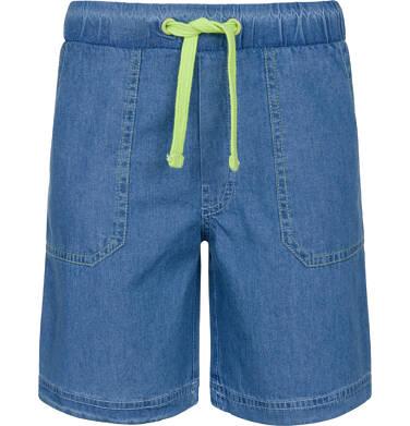 Krótkie spodnie jeansowe dla chłopca 9-13 lat C91K506_1
