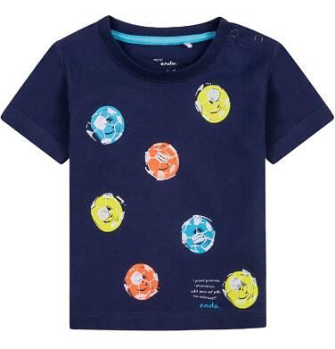 Endo - Bluzka z krótkim rękawem  dla dziecka 0-3 lata N71G005_1