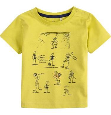 Endo - Bluzka z krótkim rękawem  dla dziecka 0-3 lat N71G066_1