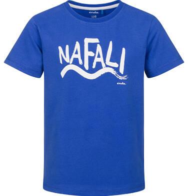 Endo - T-shirt z krótkim rękawem dla chłopca, na fali, niebieski, 2-8 lat C03G225_1 16