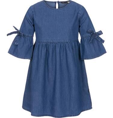 Sukienka jeansowa z rękawem 3/4 dla dziewczynki 3-8 lat D91H004_1