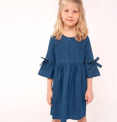 Endo - Sukienka jeansowa z rękawem 3/4 dla dziewczynki 3-8 lat D91H004_1