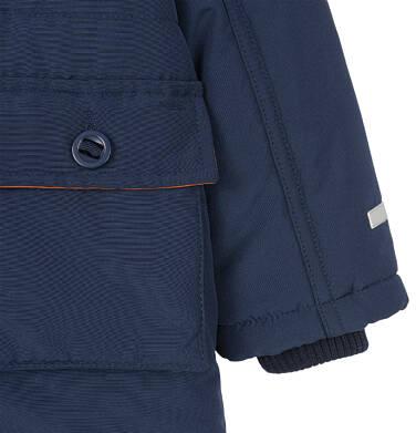 Endo - Zimowa kurtka parka dla małego dziecka, Nawet po zmroku jestem na widoku, ciemnogranatowa, ciepła N92A023_1,7