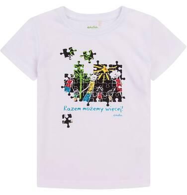 Endo - Razem możemy więcej - T-shirt dla chłopca 9-13 lat C72G663_1