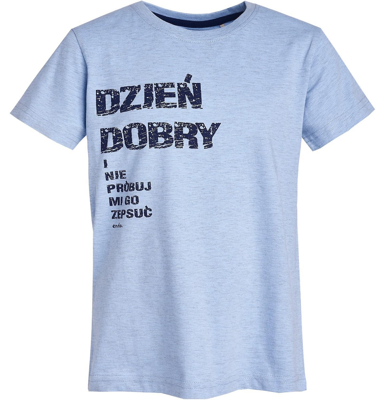 Endo - T-shirt z krótkim rękawem dla chłopca 3-8 lat C81G158_1