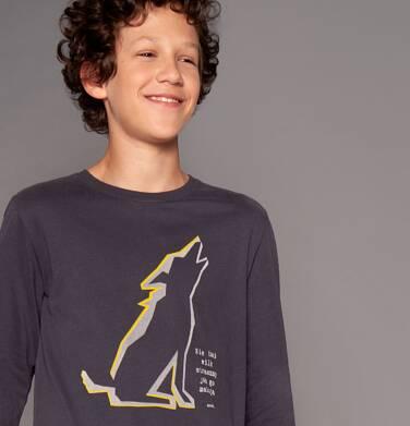 Endo - T-shirt z długim rękawem dla chłopca 3-8 lat C82G042_1