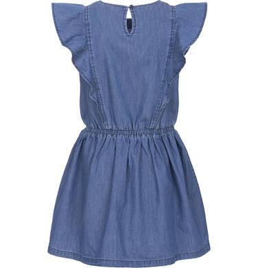 Endo - Sukienka jeansowa z krótkim rękawem dla dziewczynki 3-8 lat D91H006_1