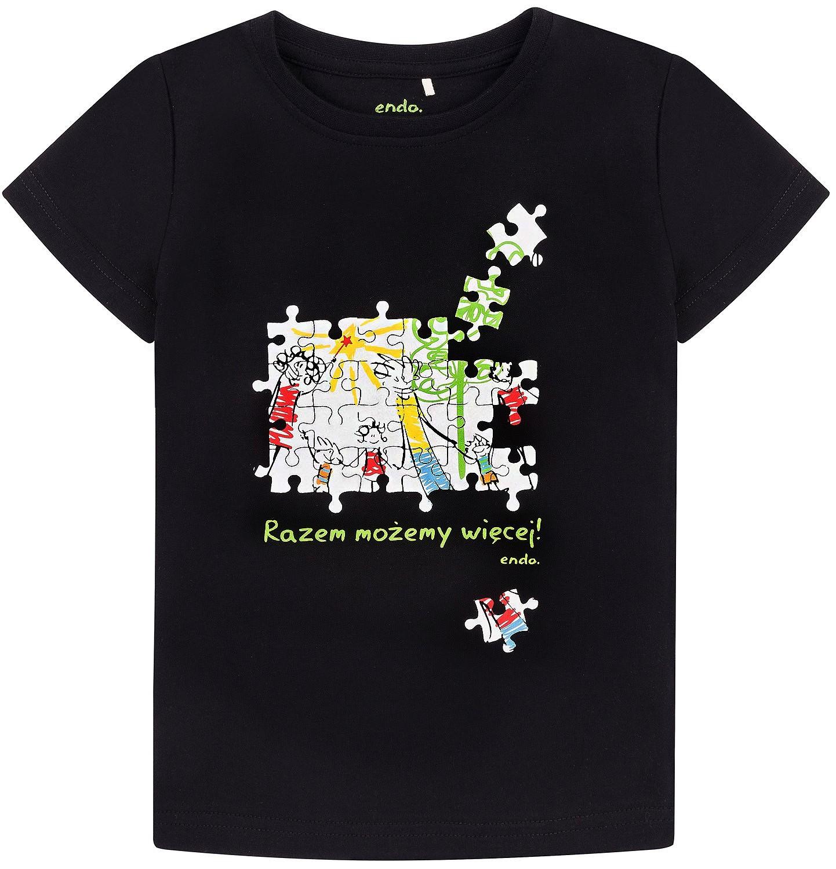 Endo - Razem możemy więcej - T-shirt dla chłopca 3-8 lat C72G163_2