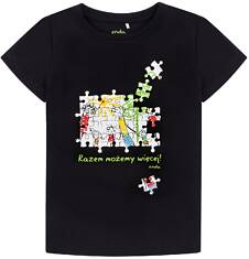 Endo - Razem możemy więcej - T-shirt z krótkim rękawem dla chłopca 3-8 lat C72G163_2