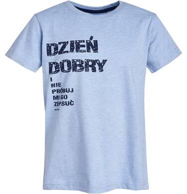 Endo - T-shirt z krótkim rękawem dla chłopca 9- 13 lat C81G658_1