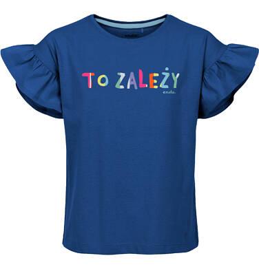 Endo - T-shirt z krótkim rękawem dla dziewczynki 9-13 lat D91G507_1