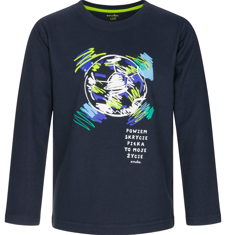 Endo - T-shirt z długim rękawem dla chłopca 9-13 lat C92G524_1