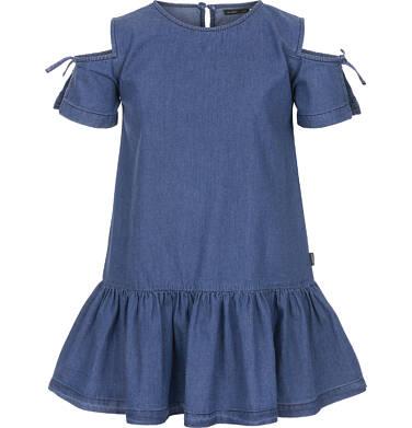 Endo - Sukienka jeansowa z krótkim rękawem dla dziewczynki 3-8 lat D91H007_1