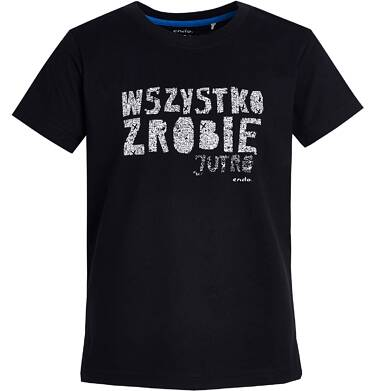 Endo - T-shirt z krótkim rękawem dla chłopca 9- 13 lat C81G660_1
