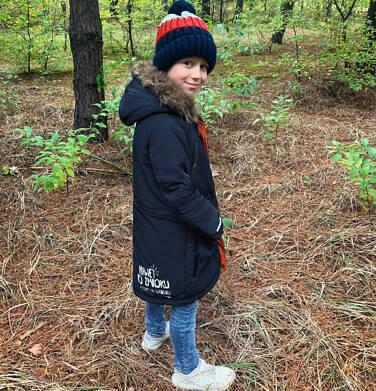 Endo - Zimowa kurtka parka dla chłopca 9-13 lat, Nawet po zmroku jestem na widoku, granatowa, ciepła C92A502_1 10