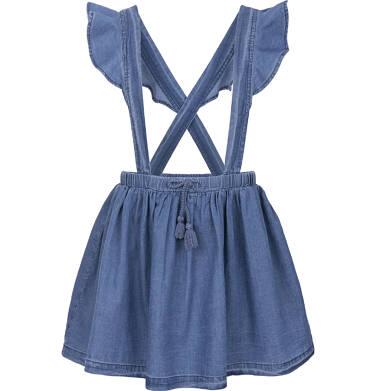 Spódnica jeansowa na szelkach dla dziewczynki 3-8 lat D91J003_1