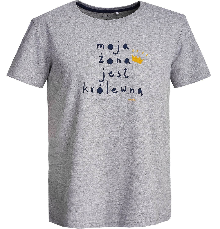 Endo - T-shirt męski Q62G004_1