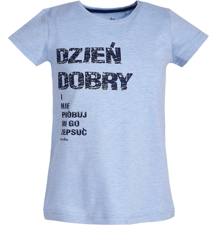 Endo - T-shirt z krótkim rękawem dla dziewczynki 9-13 lat D81G678_1