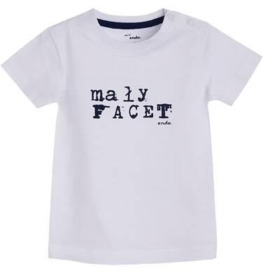 Endo - T-shirt z krótkim rękawem dla dziecka 0-3 lata N81G059_1