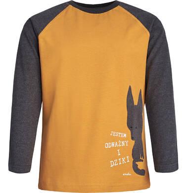 Endo - T-shirt z długim rękawem dla chłopca 9-13 lat C82G547_1
