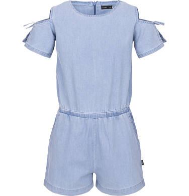 Endo - Kombinezon jeansowy dla dziewczynki 9-13 lat D91K511_1