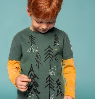 Endo - T-shirt z długim rękawem dla chłopca 3-8 lat C82G050_1