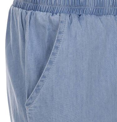 Endo - Spodnie jeansowe ze ściągaczami dla dziewczynki 3-8 lat D91K018_1