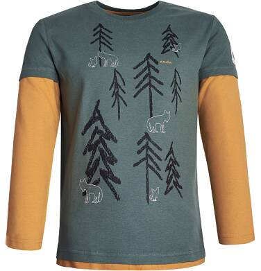 Endo - T-shirt z długim rękawem dla chłopca 9-13 lat C82G550_1