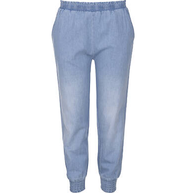 Endo - Spodnie jeansowe ze ściągaczami dla dziewczynki 9-13 lat D91K518_1