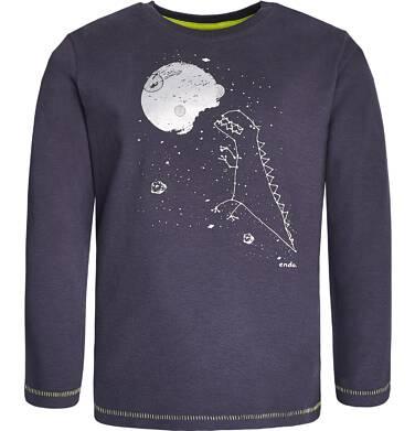 Endo - T-shirt z długim rękawem dla chłopca 3-8 lat C82G053_1