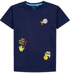 T-shirt dla chłopca 4-8 lat C71G010_1