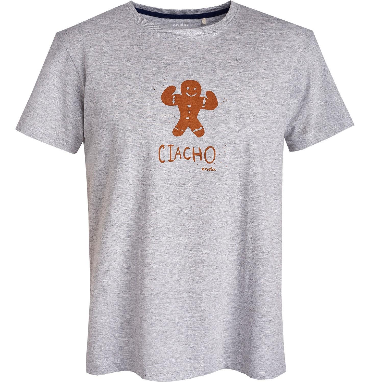 Endo - T-shirt męski Q81G033_1