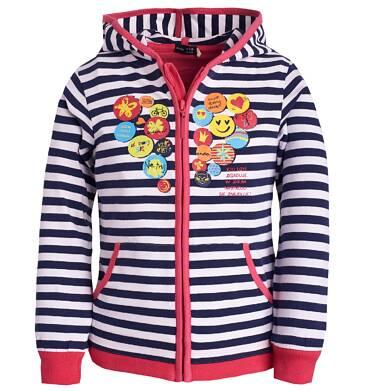 Endo - Rozpinana bluza z kapturem dla dziewczynki 3-8 lat D81C018_1