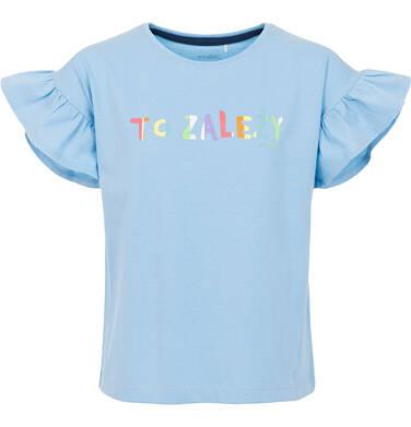 T-shirt z krótkim rękawem dla dziewczynki 3-8 lat D91G007_2