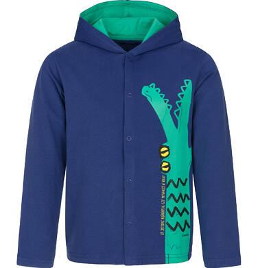 Bluza rozpinana z kapturem dla chłopca 9-13 lat C91C535_1