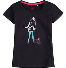 Bluzka z krótkim rękawem dla dziewczynki 9-13 lat D71G660_2