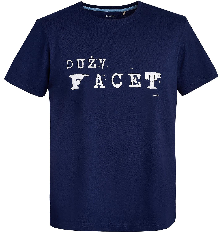 Endo - T-shirt męski Q81G038_1