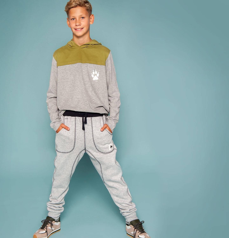Endo - Spodnie dresowe dla chłopca 9-13 lat C82K514_1