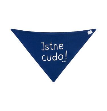 Endo - Chustka wiosenna dla dziecka, niebieska N03R027_1,2