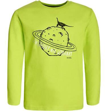 Endo - T-shirt z długim rękawem dla chłopca 9-13 lat C82G554_1