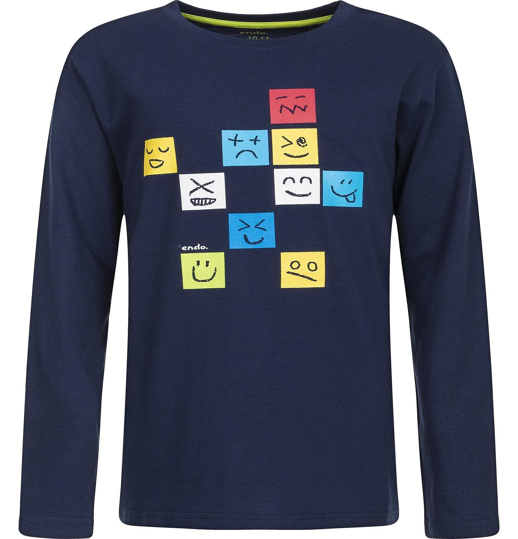 Endo - T-shirt z długim rękawem dla chłopca 3-8 lat C82G129_1