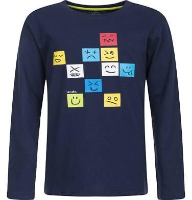 Endo - T-shirt z długim rękawem dla chłopca 9-13 lat C82G629_1