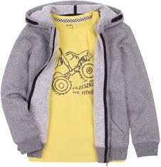 Endo - Ciepła rozpinana bluza z kapturem dla chłopca 3-8 lat C72C024_1