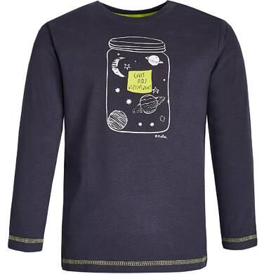 """Endo - """"Cały mój wszechświat"""" T-shirt z długim rękawem dla chłopca 9-13 lat C82G555_1"""